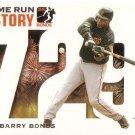 BARRY BONDS 2006 TOPPS HOME RUN HISTORY #BB729 SAN FRANCISCO GIANTS AllstarZsports.com