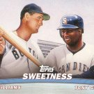 TED WILLIAMS / TONY GWYNN 2001 TOPPS COMBOS #TC15 RED SOX / PADRES AllstarZsports.com