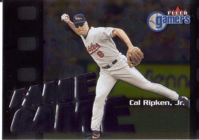 CAL RIPKEN 2000 FLEER GAMERS #112 BALTIMORE ORIOLES AllstarZsports.com