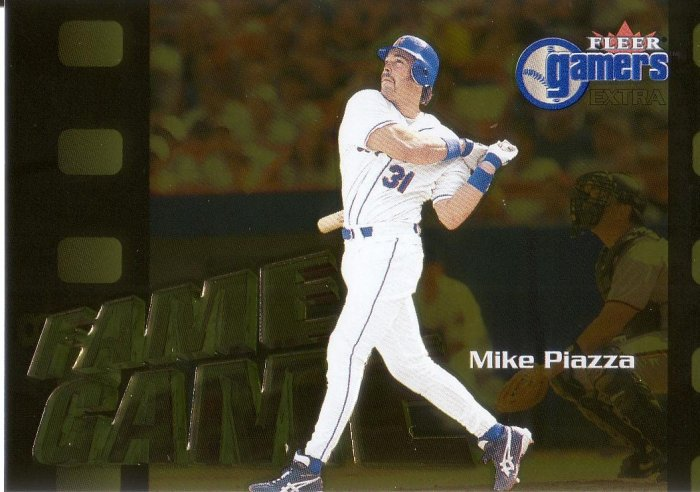 MIKE PIAZZA 2000 FLEER GAMERS EXTRA #115 NEW YORK METS AllstarZsports.com