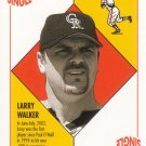LARRY WALKER 2003 TOPPS BLUE BACKS #BB31 COLORADO ROCKIES AllstarZsports.com