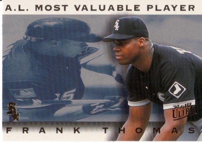FRANK THOMAS 1995 ULTRA AWARD WINNERS #19 OF 25 CHICAGO WHITE SOX AllstarZsports.com