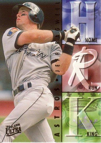JEFF BAGWELL 1995 ULTRA HOME RUN KINGS #7 OF 10 HOUSTON ASTROS AllstarZsports.com
