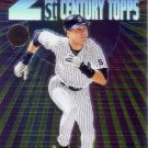 DEREK JETER 2000 TOPPS CHROME 21ST CENTURY TOPPS #C3 NEW YORK YANKEES AllstarZsports.com