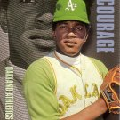 VIDA BLUE 2001 TOPPS AMERICAN PIE PROFILES IN COURAGE #PIC18 OAKLAND ATHLETICS AllstarZsports.com