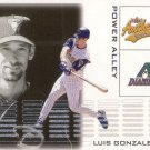 LUIS GONZALEZ 2002 AUTHENTIX POWER ALLEY #3 ARIZONA DIAMONDBACKS AllstarZsports.com