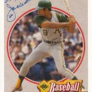 REGGIE JACKSON 1990 UPPER DECK BASEBALL HEROES #2 OF 9 OAKLAND ATHLETICS AllstarZsports.com