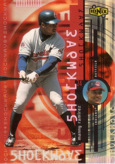 MANNY RAMIREZ 2000 UD IONIX SHOCKWAVE #S3 CLEVELAND INDIANS AllstarZsports.com