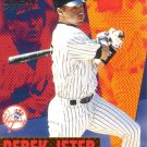 DEREK JETER 1999 PACIFIC AURORA PENNANT FEVER #12 NEW YORK YANKEES AllstarZsports.com