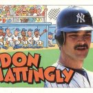 DON MATTINGLY 1992 TOPPS KIDS #84 NEW YORK YANKEES AllstarZsports.com