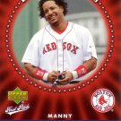 MANNY RAMIREZ 2006 UPPER DECK FIRST PITCH DIAMOND STARS #DS-6 BOSTON RED SOX AllstarZsports.com