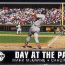 MARK MCGWIRE 2002 UPPER DECK VINTAGE DAY AT THE PARK #DP4 ST. LOUIS CARDINALS AllstarZsports.com