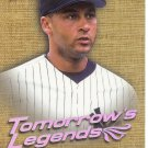 DEREK JETER 2001 FLEER ULTRA TOMORROW'S LEGENDS #12 TL NEW YORK YANKEES www.AllstarZsports.com