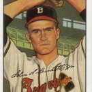 LEW BURDETTE 2001 BOWMAN ROOKIE REPRINTS #244 (18 OF 25) BOSTON BRAVES www.AllstarZsports.com