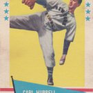 CARL HUBBELL 1961 FLEER #45 NEW YORK GIANTS www.AllstarZsports.com