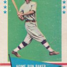 HOME RUN BAKER 1961 FLEER #6 PHILADELPHIA ATHLETICS www.AllstarZsports.com