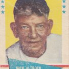 NICK ALTROCK 1961 FLEER #3 CHICAGO WHITE SOX www.AllstarZsports.com