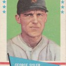 GEORGE SISLER 1961 FLEER #78 BOSTON RED SOX www.AllstarZsports.com