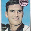 DAVE MOREHEAD 1969 TOPPS #29 KANSAS CITY ROYALS www.AllstarZsports.com