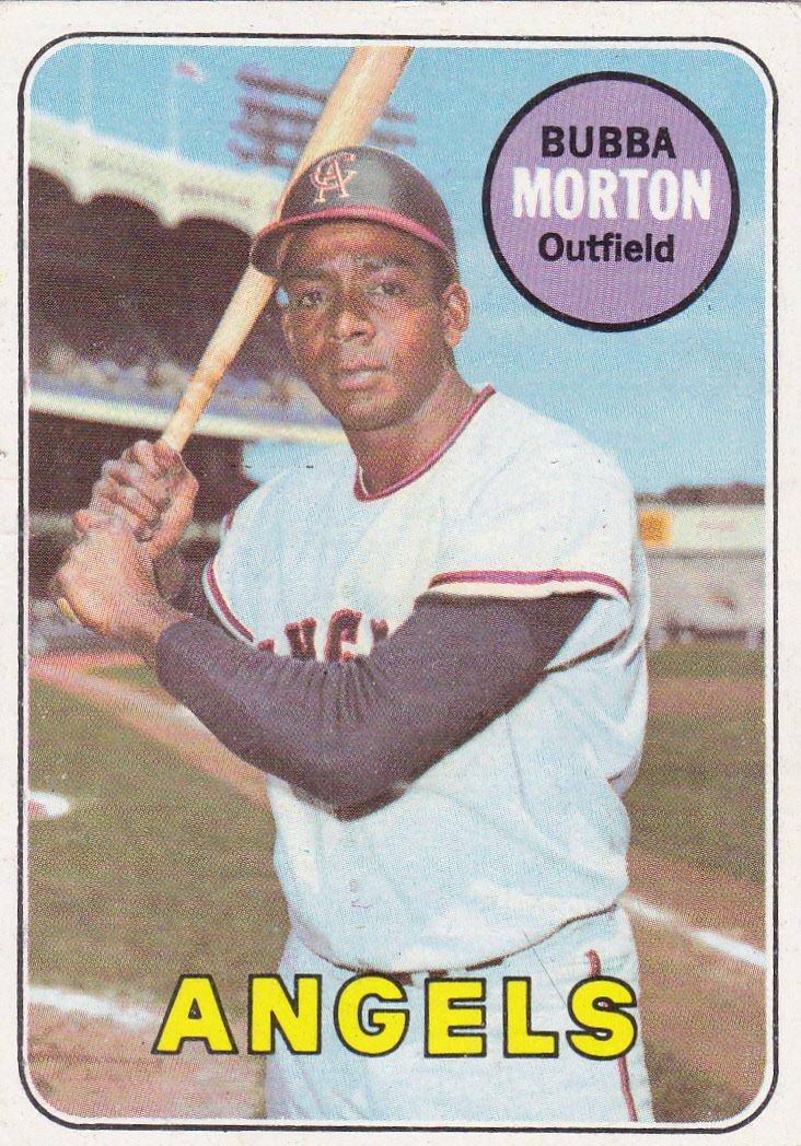BUBBA MORTON 1969 TOPPS #342 CALIFORNIA ANGELS www.AllstarZsports.com