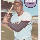 BUBBA MORTON 1969 TOPPS #342 CALIFORNIA ANGELS www.AllstarZsports.com