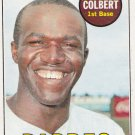 NATE COLBERT 1969 TOPPS #408 SAN DIEGO PADRES www.AllstarZsports.com