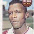 CHICO SALMON 1969 TOPPS #62 SEATTLE PILOTS www.AllstarZsports.com