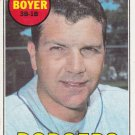KEN BOYER 1969 TOPPS #379 LOS ANGELES DODGERS www.AllstarZsports.com
