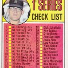 DENNY McLAIN 1969 TOPPS CHECKLIST #57 DETROIT TIGERS www.AllstarZsports.com