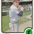 LARRY BIITTNER 1973 TOPPS #249 TEXAS RANGERS www.AllstarZsports.com