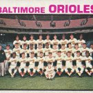 BALTIMORE ORIOLES 1973 TOPPS #278 TEAM CARD www.AllstarZsports.com