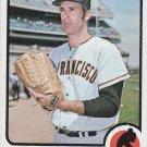 JIM BARR 1973 TOPPS #387 SAN FRANCISCO GIANTS www.AllstarZsports.com
