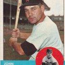 JOHN SCHAIVE 1963 TOPPS #356 WASHINGTON SENATORS www.AllstarZsports.com