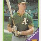 MARK McGWIRE 1988 TOPPS #580 OAKLAND ATHLETICS www.AllstarZsports.com