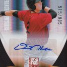DAVID HERBEK 2011 ELITE EXTRA FRANCHISE FUTURE PROSPECT AUTO 515/885 #180 CHICAGO AllstarZsports.com