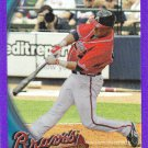 NATE McLOUTH 2010 TOPPS CHROME PURPLE REFRACTOR #162 498/599 ATLANTA BRAVES www.AllstarZsports.com