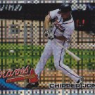 CHIPPER JONES 2010 TOPPS CHROME XFRACTOR #110 ATLANTA BRAVES www.AllstarZsports.com