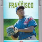 BEN FRANCISCO 2003 TOPPS PRISTINE #143 1384/1599 REFRACTOR ROOKIE UNCIRCULATED NEW YORK YANKEES