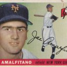 JOE AMALFITANO 1955 TOPPS #144 ROOKIE NEW YORK GIANTS www.AllstarZsports.com
