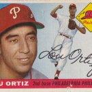LOU ORTIZ 1955 TOPPS #114 ROOKIE PHILADELPHIA PHILLIES www.AllstarZsports.com
