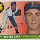 RAY HERBERT 1955 TOPPS #138 DETROIT TIGERS www.AllstarZsports.com