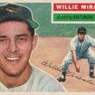 WILLIE MIRANDA 1956 TOPPS #103 BALTIMORE ORIOLES www.AllstarZsports.com