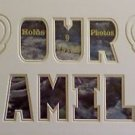 Custom Double Our Family Picture Photo Mat 11 x 20