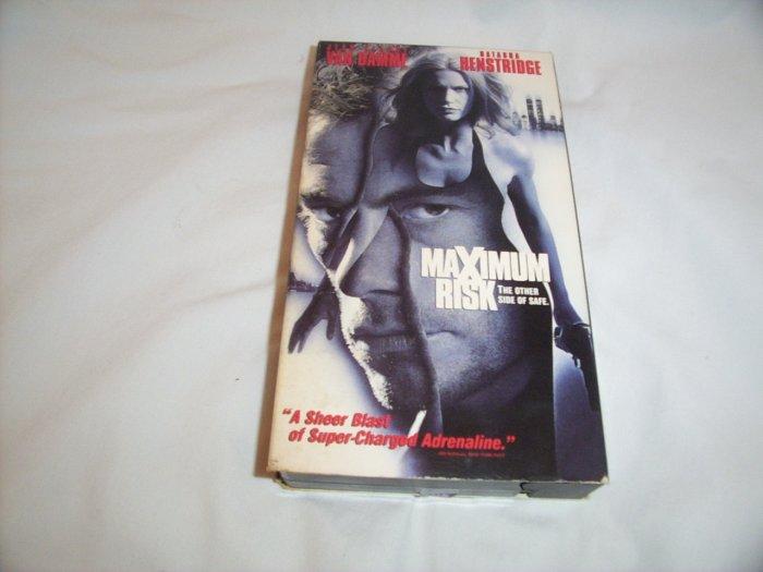 Maximum Risk (1996) VHS