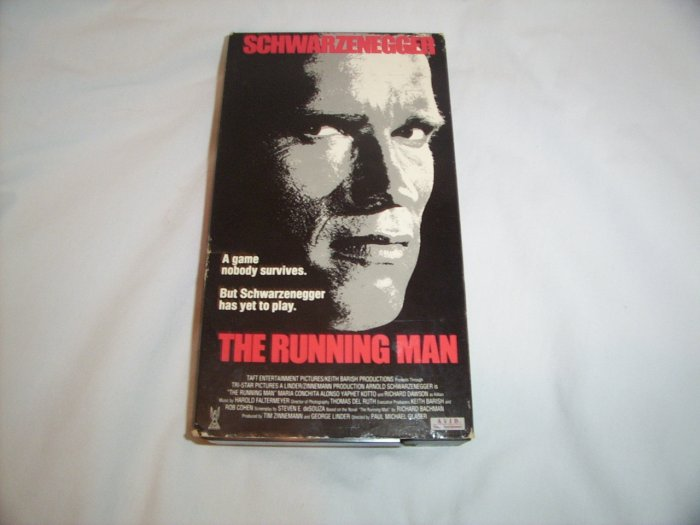 The Running Man (1987) VHS
