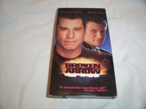 Broken Arrow (1996) VHS