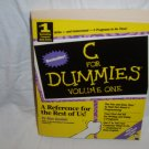 C For Dummies Volume One by Dan Gookin (paperback 1994)