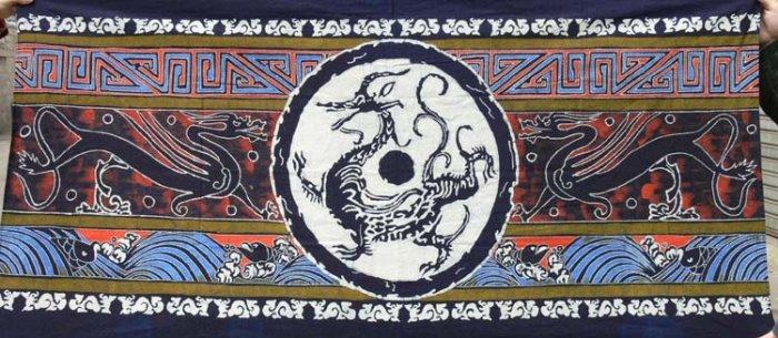 the Wa Dang Long Wen wax printing