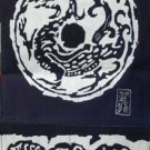 the middle size dragon pattern wax printing