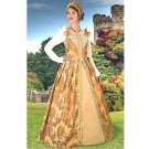 Anjou Gold Renaissance Gown - Medium